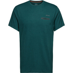 PYUA Skip-Y S T-Shirt Homme, rover green melange
